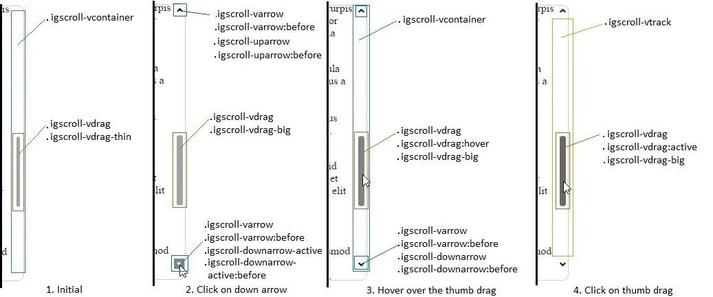 Styling igScroll - Ignite UI™ Help